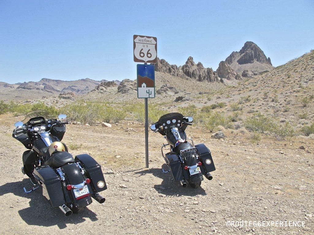 Harley Touring en la ruta 66