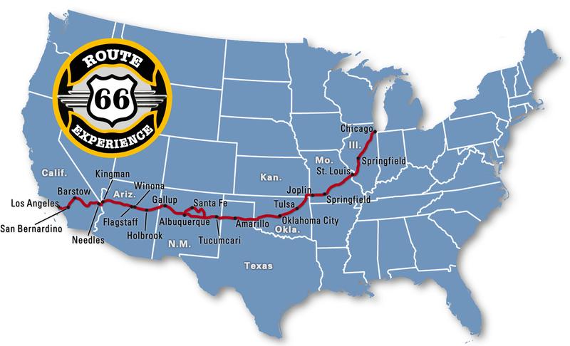Estados de la ruta 66