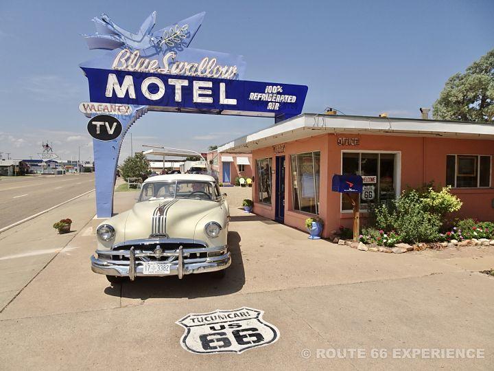 Moteles en la Ruta 66