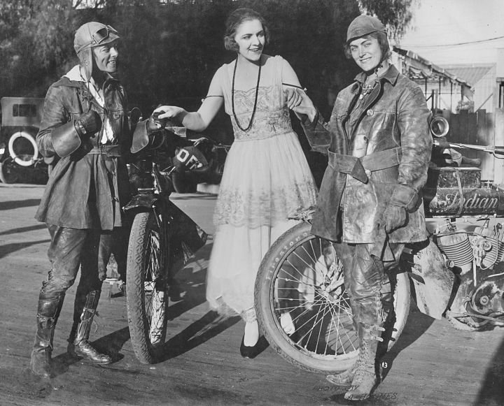 Viajeras en moto